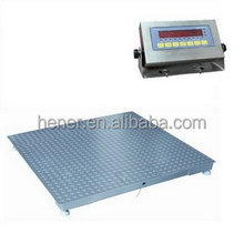 3000kg industrial weighing systems platform scale floor scale