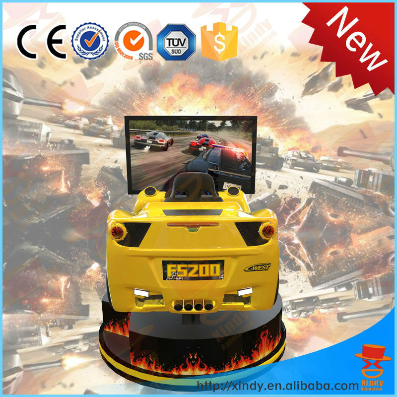 Canton Fair driving simulator price car simulator pc game driving simulator india car racing game machine