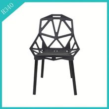 Modern Outdoor Stackable nilkamal plastics chair wholesale black