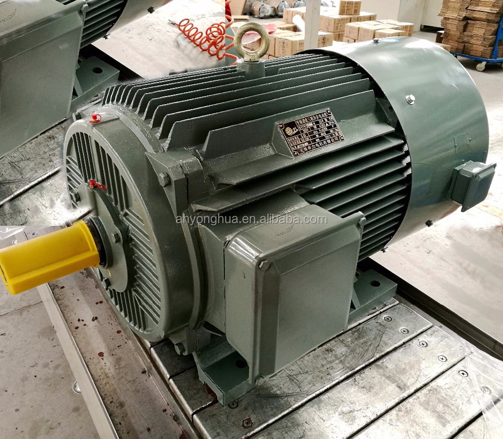 YVF2 small variable speed electric motor 10kw 220v ac alternator