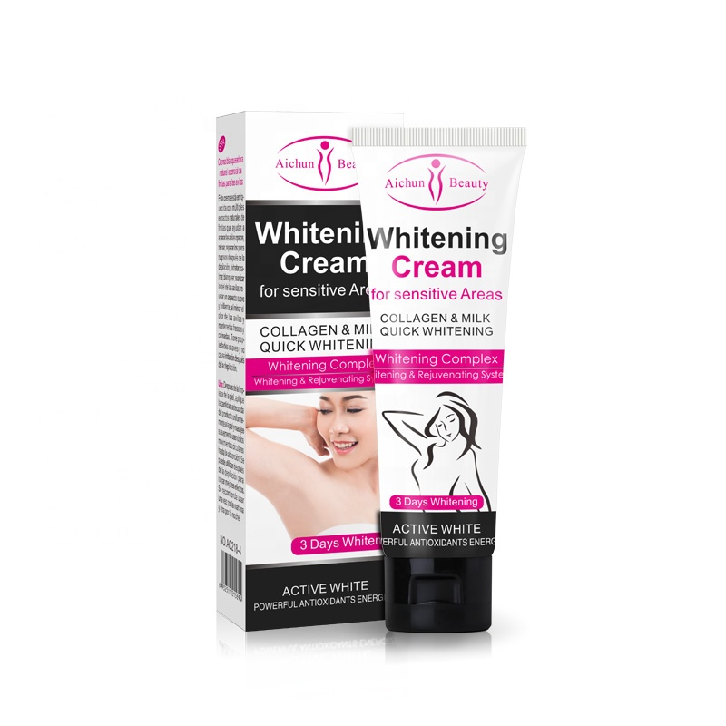 Aichun beauty Private Parts Knees Underarm Best Whitening <strong>Cream</strong> for sensitive areas