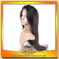 Highly Feedback full cuticle virgin unprocessed ali braiding hair wig,flaxen wig