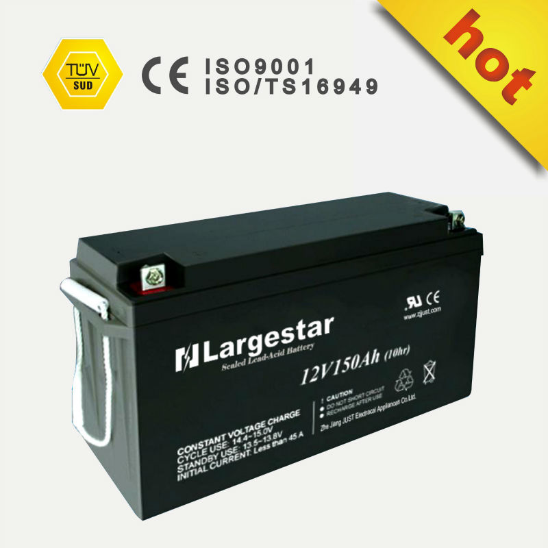 Deep Cycle Solar UPS Battery VRLA Battery 12V 150ah