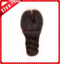 Loose Wave With Lace Closure Brazilian Human Hair Permanent Wave Eurasian Hair Closure