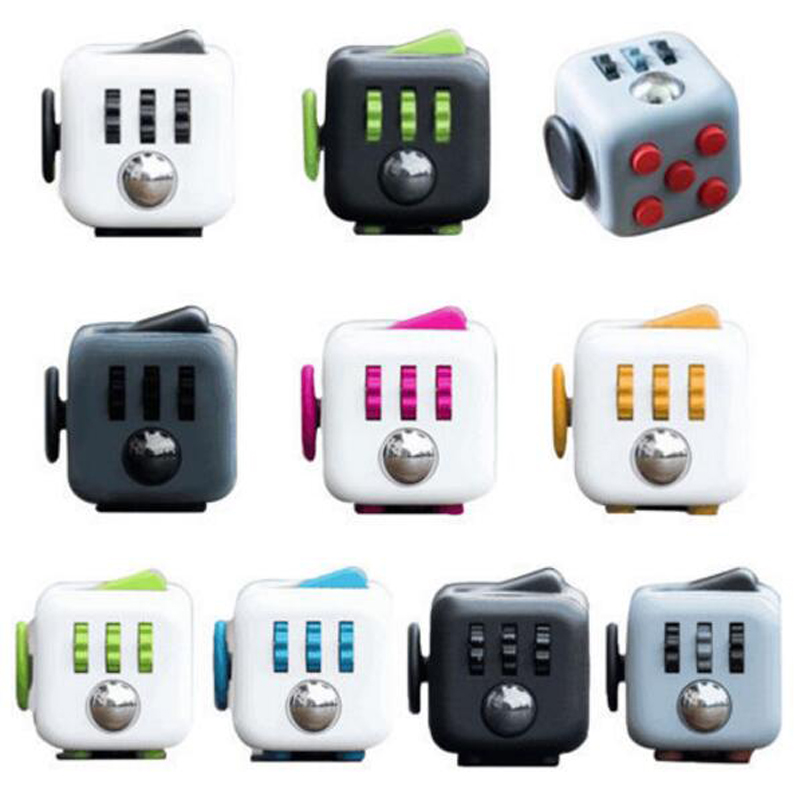 High quality 11 Types Fidget Cube Toys For Girl Boys Chrismtas Gifts Fidget Cube
