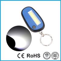 3 Modes Mini Keychain Pocket Torch COB LED Light Lamp
