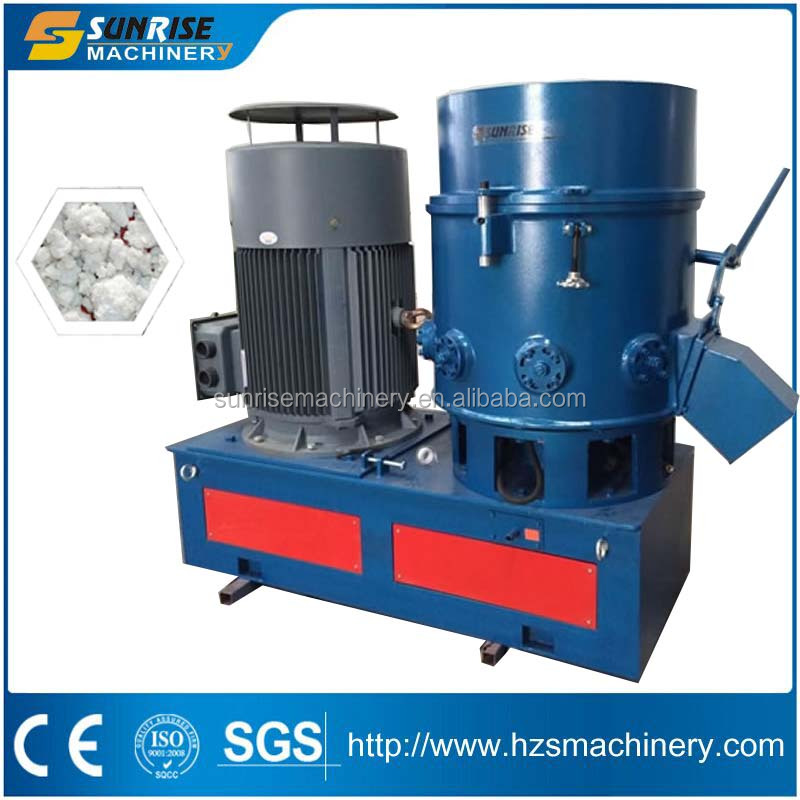 Plastic recycling machine/film agglomerating machine