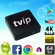2017 Most Professional TVIP S805 1G8G Linux android dual OS wifi dongle for set top box made in China Quad core TV