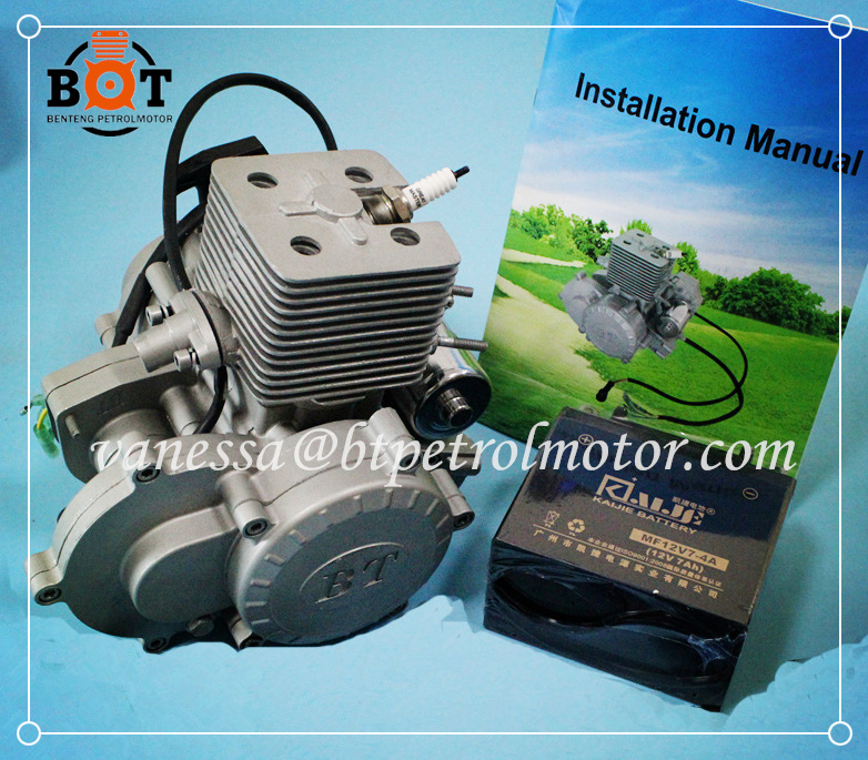 good after-sales service BT 2 cycle 80cc bicycle engine by engine factory CE approved