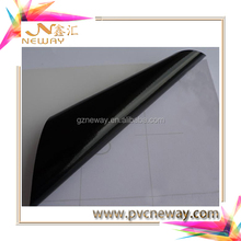black glue glossy pvc self adhesive vinyl film for car body advertising