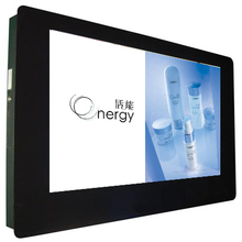 65 inch wall mount LG/Samsung network multimedia interactive LCD advertising monitor