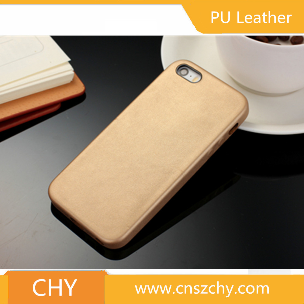 ultra thin shockproof soft pu leather skin hard back cover cell phone case for iphone 5 5s