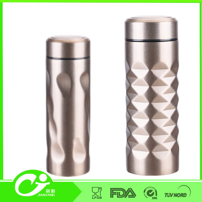 500ML new design double walls keep hot stainless steel 1/2 gal water jug thermos jug
