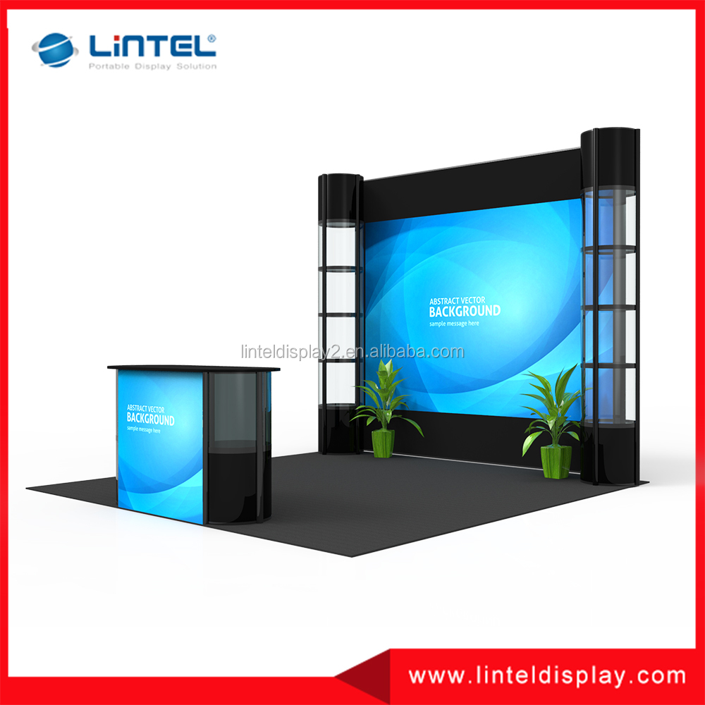 10x10 folding for exhibition display booth
