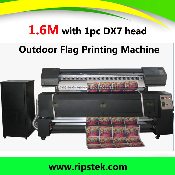 Guangzhou HOT SELL Sublimation Printer/Outdoor Flag Printing Machine with dx7 print head