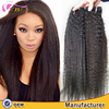 XBL hair cheap Malaysian human hair weave fashion afro kinky straight hair extensions for black women