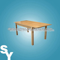 2014 New Design Nature Lacquer Large Extending Dining Table