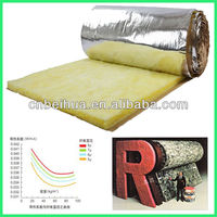 Great soundproofing fiber galss wool blanket insulation materials with high quality