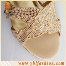 Hot sale Glass Material rhinestone stickers for shoes