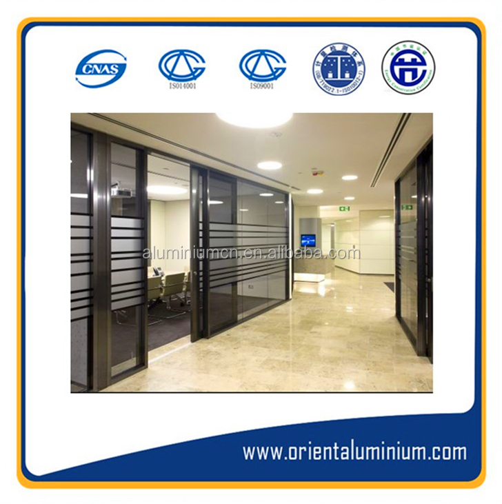 Crazy selling aluminum partition wall, aluminum office partition