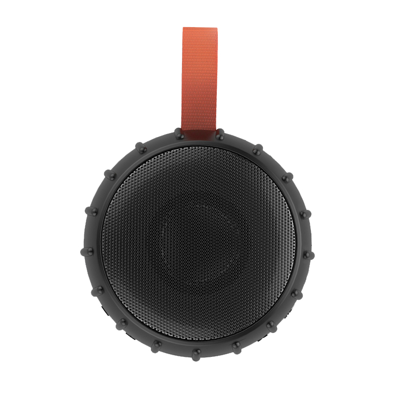China factory Tire shaped waterproof wireless speaker 10W outdoor IPX7 portable wireless speaker for bicycle