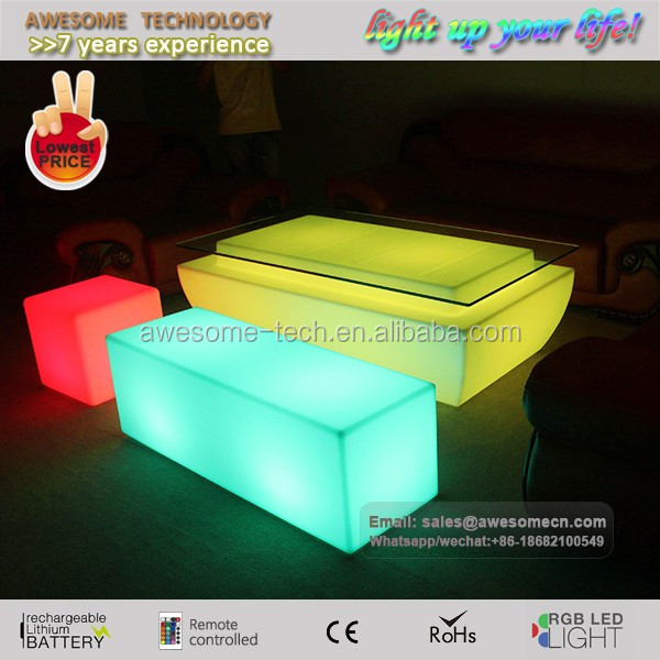 Best glow led furniture set for event design/plan/management