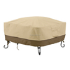 square fire pits/tables cover tear resistant patio furniture cover