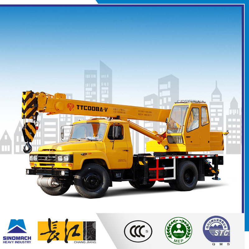 8 ton mini pickup truck, 8 ton lifting hook, 7 ton truck cranes