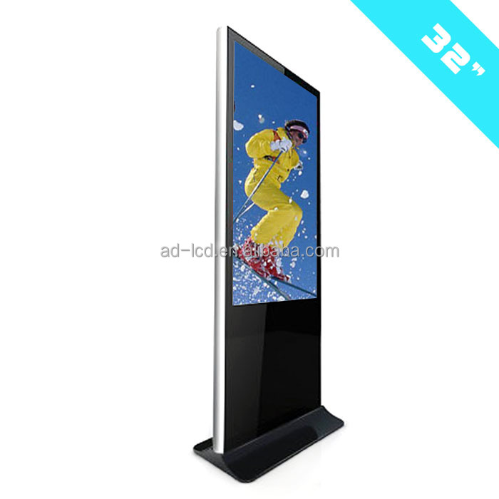 32 inch touch screen kiosk android tablet kiosk stand flexible tablet stand