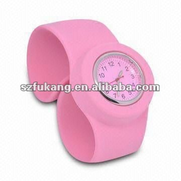 silicone slap watches for kids with various colors