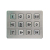 SUS stainless steel 12 keys matrix keypad with ribbon cables