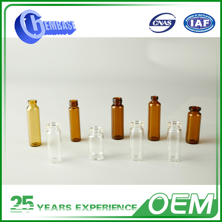 China New Products Chemical Resistance Glass Medicine Bottle