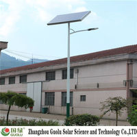 13 years experience Kyocera cell solar panels in dubai Solar street light photovoltaic