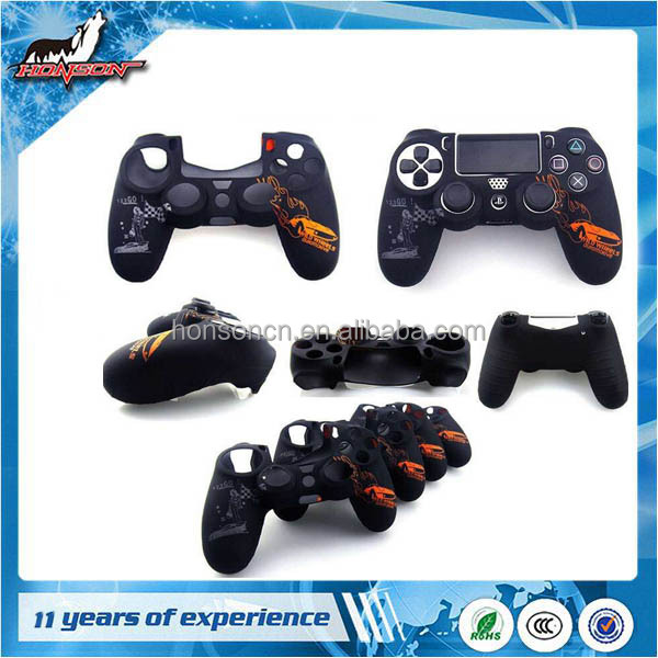 Original new Soft Silicone Skin Grip Protective Cover for PS4 Controller Rubber Case
