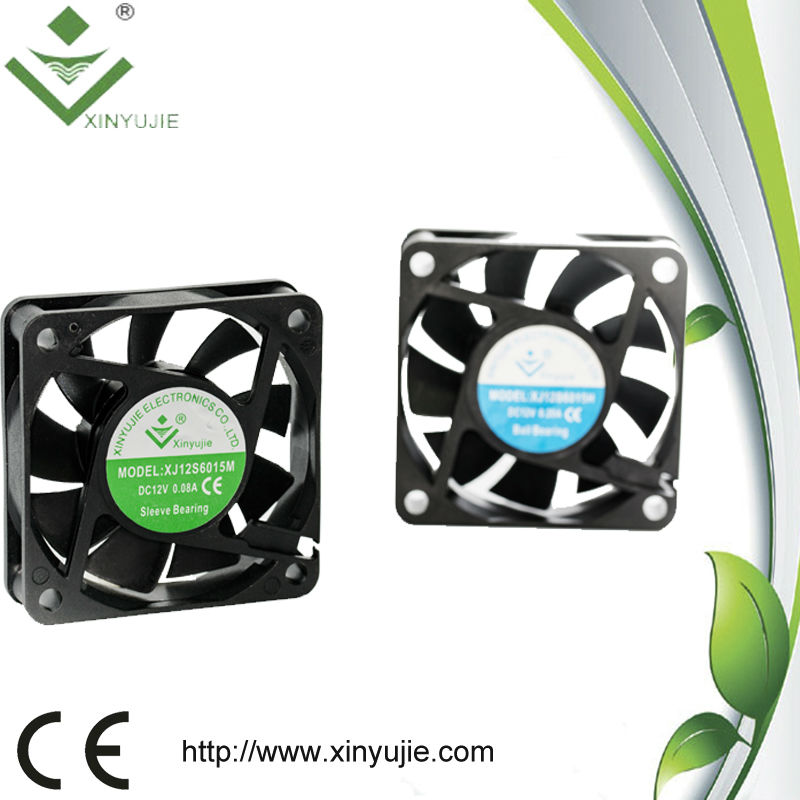 parts and components exhaust fan 12v 24v dc fan 60*60*15mm