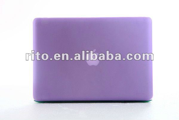 "New Arrival of Solid Purple Color Matte Hard Case for Mac Air 13"", OEM/ODM Preferred"
