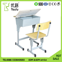 Discount Single Students Desk And Chair