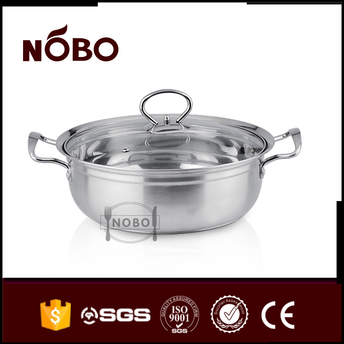 Wholesale price nobo stainless steel instant hot pot