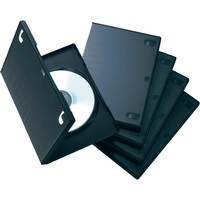 WS factory made plastic cases 100% virgin PP material CD DVD box