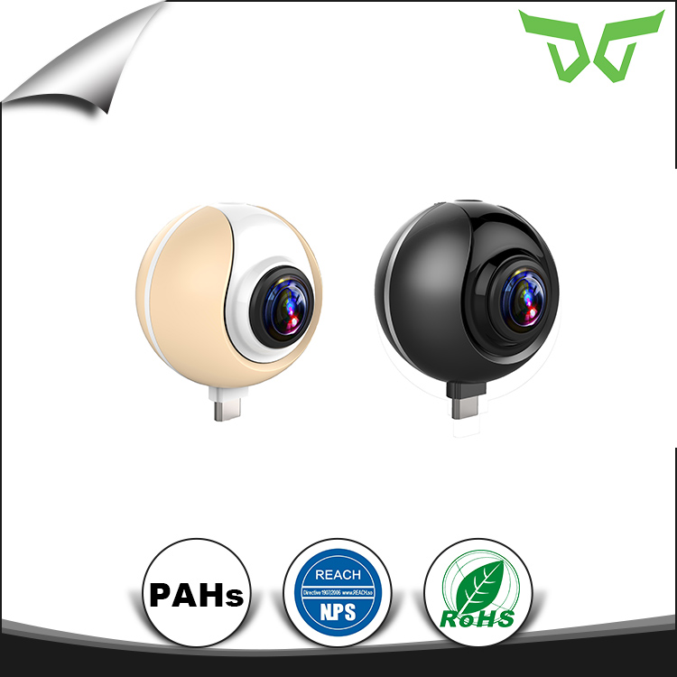 Factory Price FULL HD 1080P 2mp Fisheye p2p WIFI IP Cameras Smart Home 360 Panoramic Camera