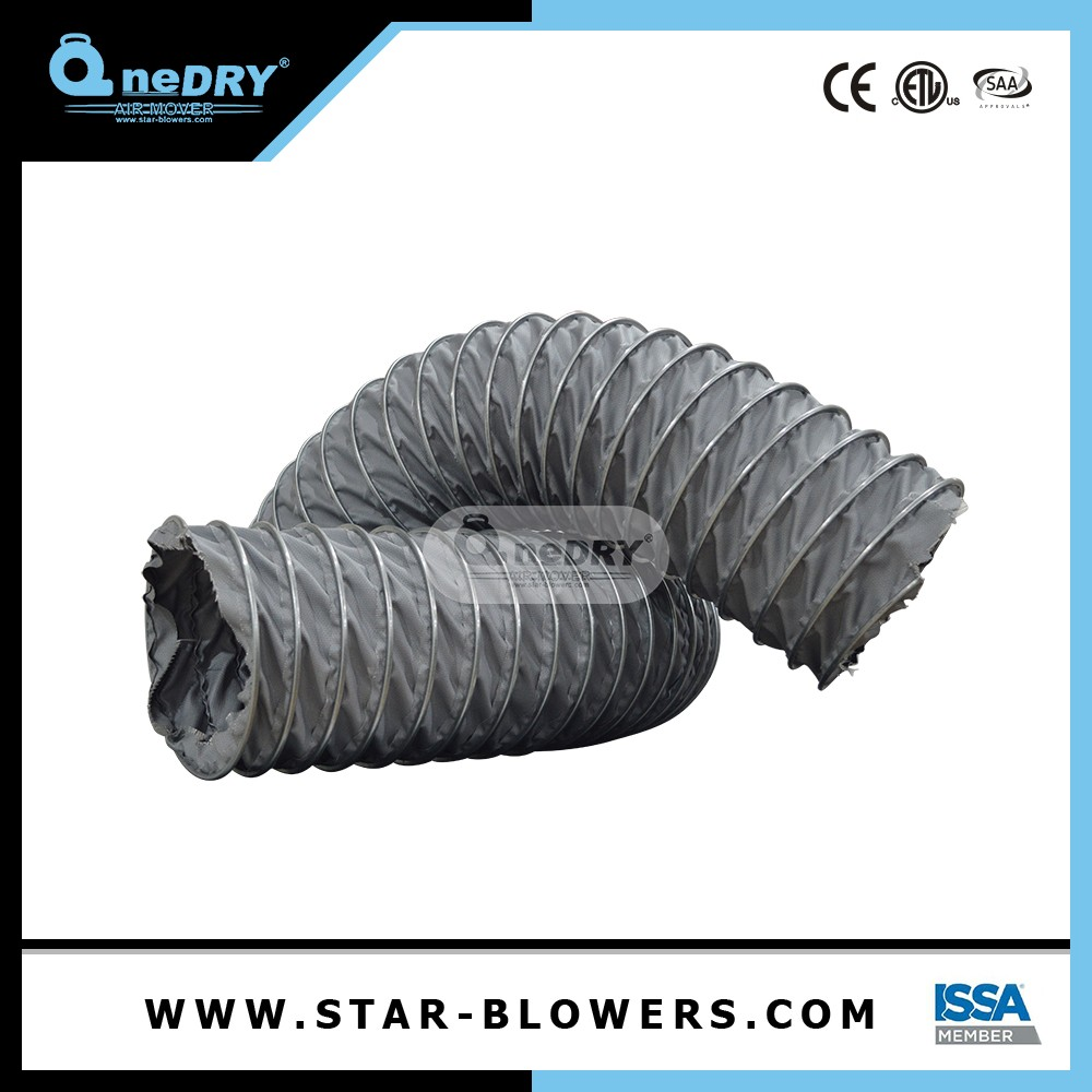 Fire Resistant Flexible Air Canvas Duct