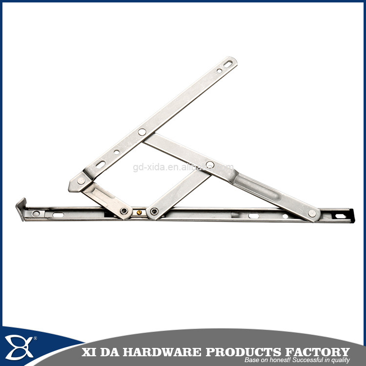 Stainless steel window adjustable sliding friction stay with 4 bar