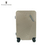 New design trolley travel aluminium case bag/ hard shell case