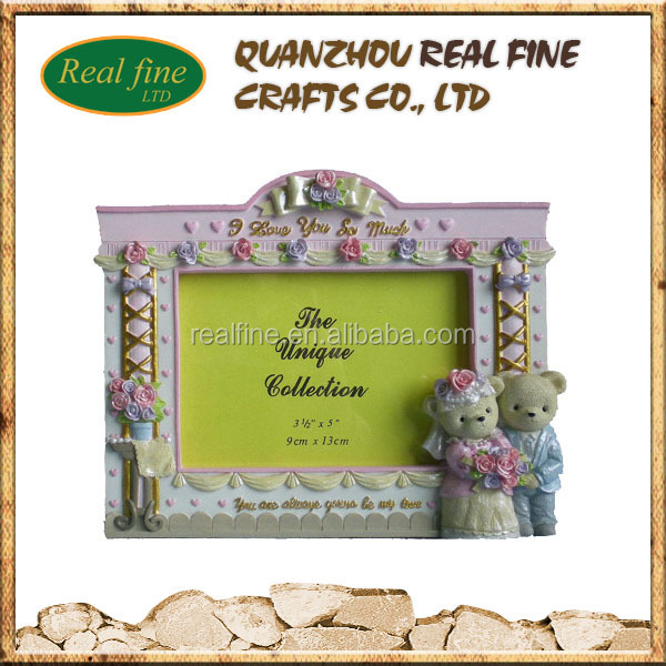 Real Fine Factory handmade 3d resin painting picture beautiful photo frame for decoration souvenirs