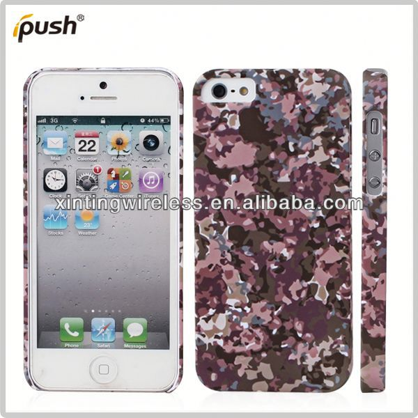 "In stock with cheap price hard pc case for iphone5 pc cover for iphone 5"" mobile phone"
