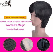 New style High Quality Synthetic Mustache Wig ,Heat Resistant Synthetic Full Lace Wigs,Natural Looking Synthetic Wig