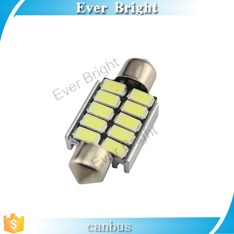 Factory price c5w led bulds 5730 festoon interior dome light for car accessories led auto light buld