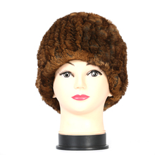 wholesale european style springy knit women's winter hat