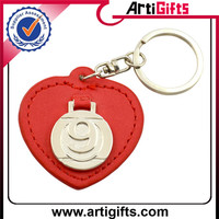 Factory supply factory make custom leather keychain