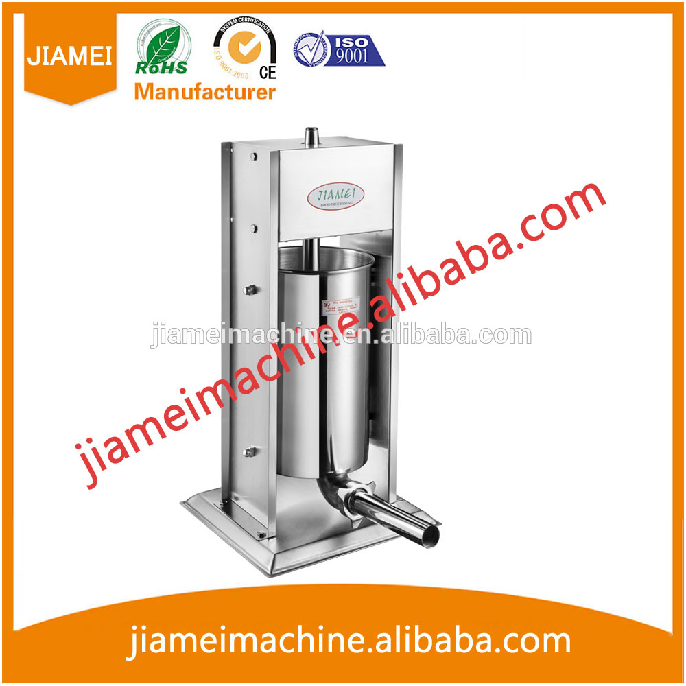 Fast delivery 68*32*24 adjustable sausage making machine